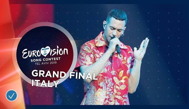 Mahmood, Eurovision Song Contest, 18 May 2019