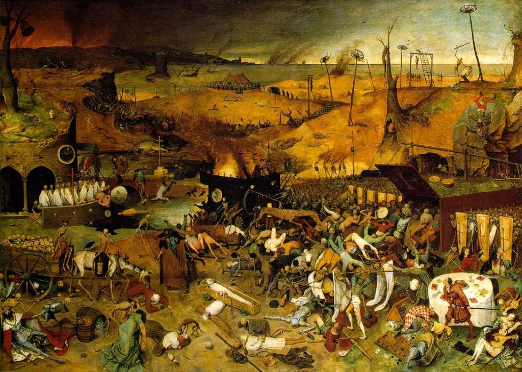 Ölümün Zaferi, Brueghel the Elder (1562).